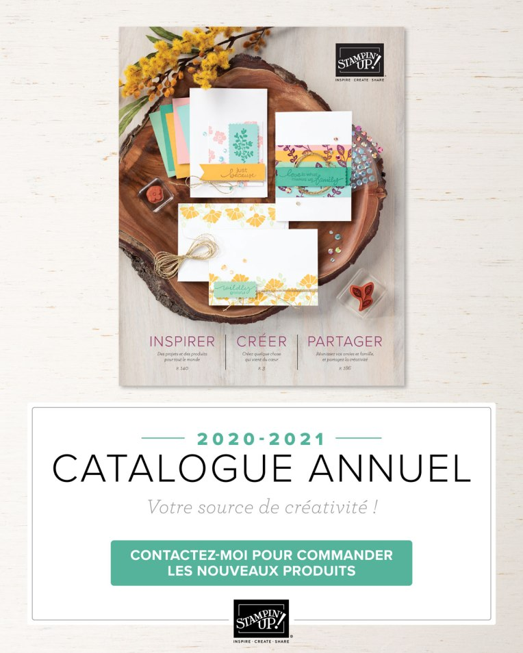 Lancement Catalogue Stampin' Up! 2020-2021