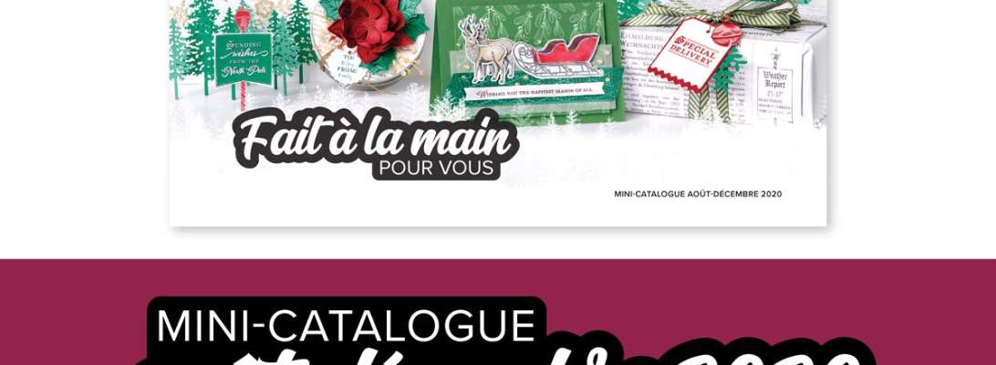 Mini Catalogue août décembre - Stampin' Up!