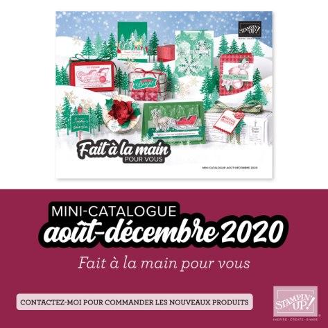 Mini Catalogue août décembre - Stampin' Up!