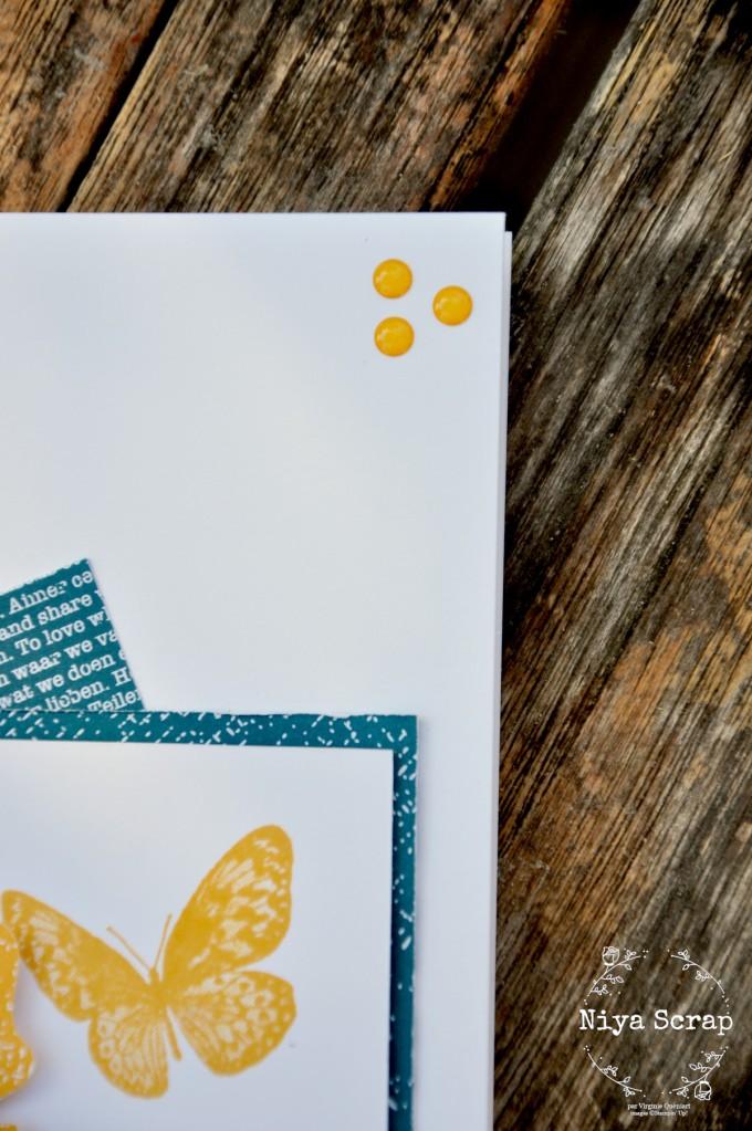 Niya Scrap - Carte Carrés et Papillons - Tout un Sketch ! #t1s1 - matériel Stampin' Up!