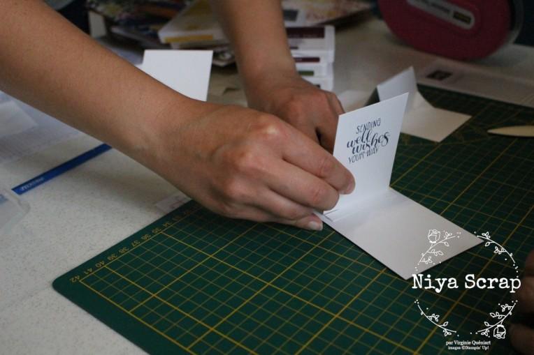 Niya Scrap - Mon premier atelier - matériel Stampin' Up!