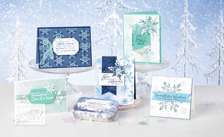 Collection SPLENDEUR EN FLOCONS - Stampin' Up!