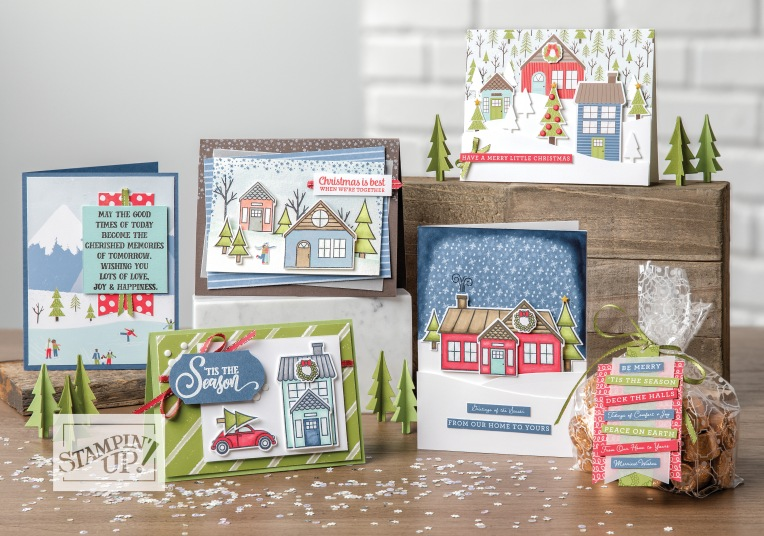 Collection C'EST NOËL AU VILLAGE - Stampin' Up!