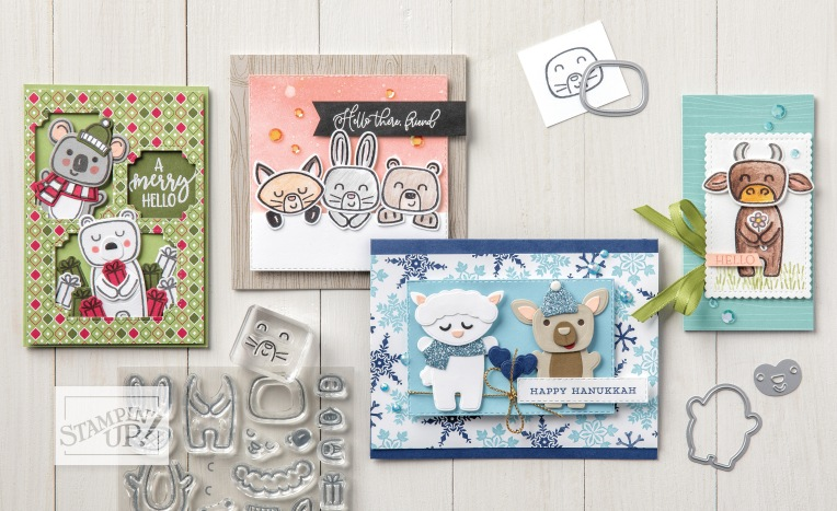 Lot Menagerie Mix-Up - Stampin' Up!