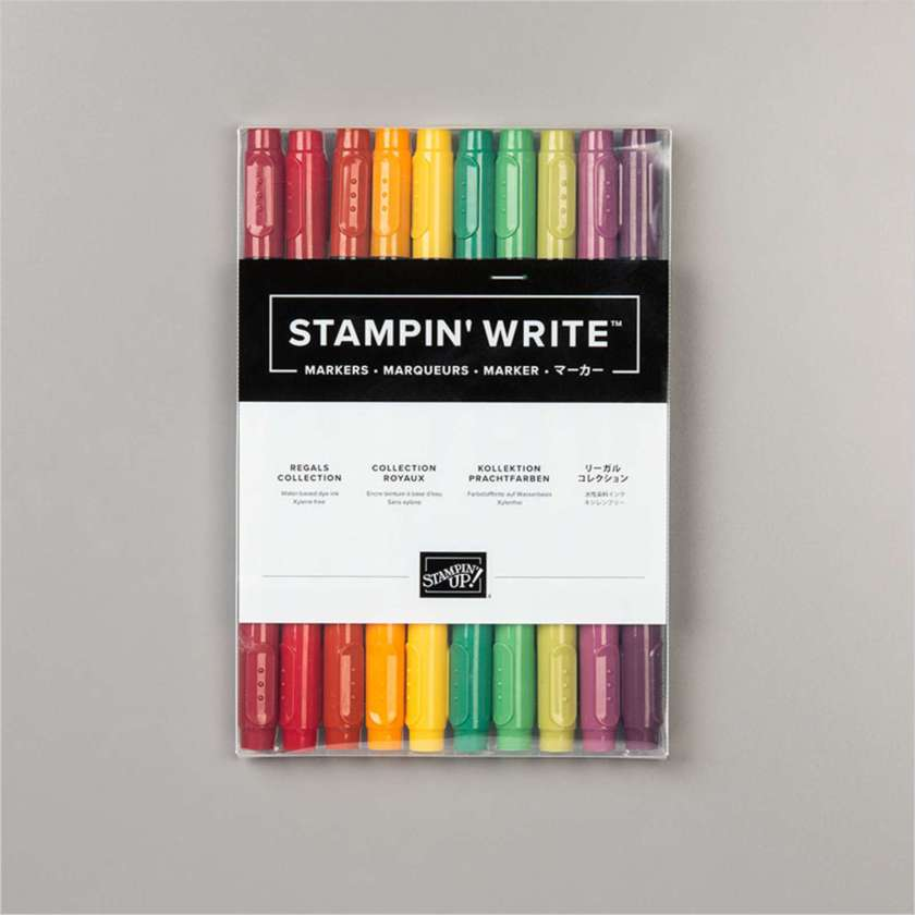 MARQUEURS STAMPIN' WRITE COLLECTION ROYAUX
