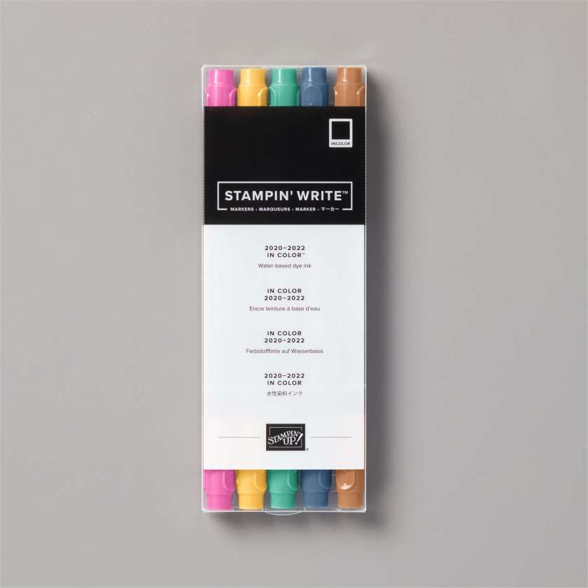 MARQUEURS STAMPIN' WRITE IN COLOR 2020-2022