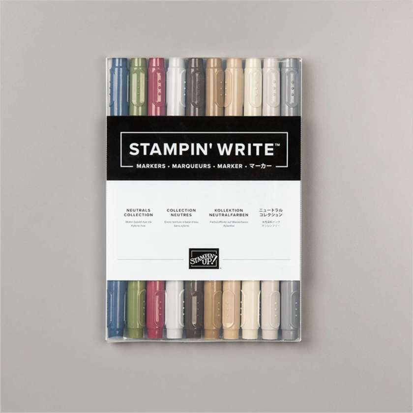 MARQUEURS STAMPIN' WRITE COLLECTION NEUTRES