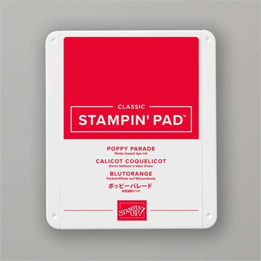 TAMPON ENCREUR CLASSIC CALICOT COQUELICOT