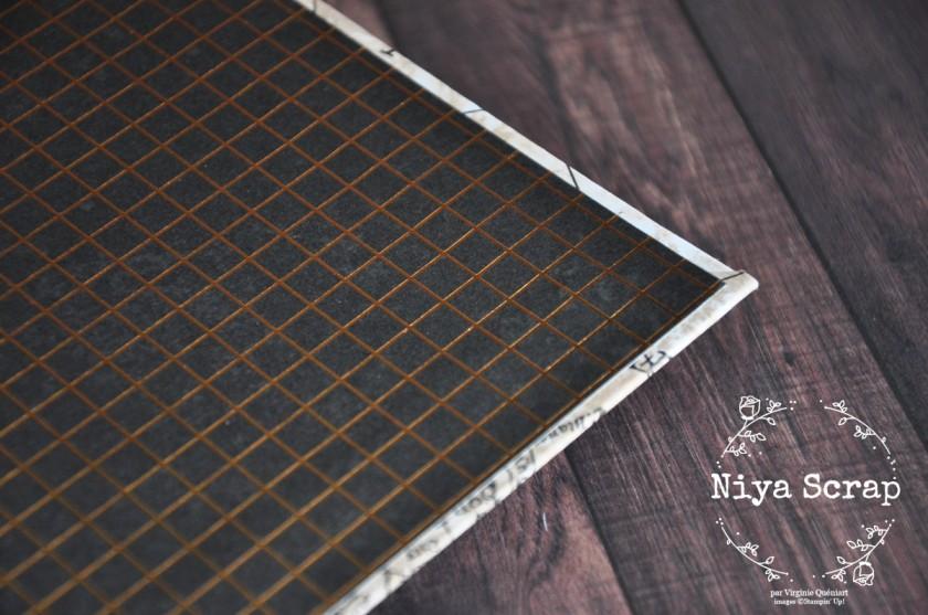 Niya Scrap - carnet Tour du Globe - reliure japonaise - Blog Hop des Sweet Ladybirds - Matériel Stampin' Up!
