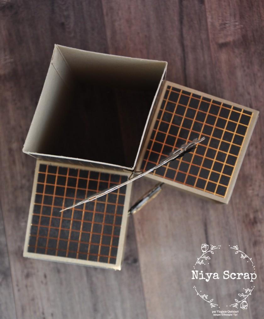 Niyascrap - Carte d'anniversaire engrenages - Produits Stampin' Up!