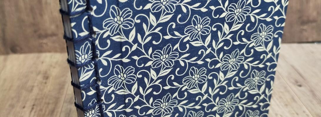 Niya Scrap - carnet Vases Bohêmes - reliure japonaise - Matériel Stampin' Up!