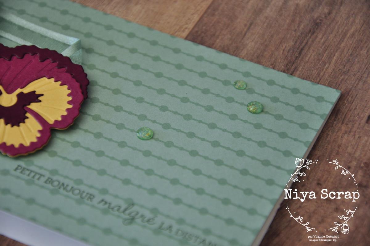 Niya Scrap - carte Pensées - Matériel Stampin' Up!