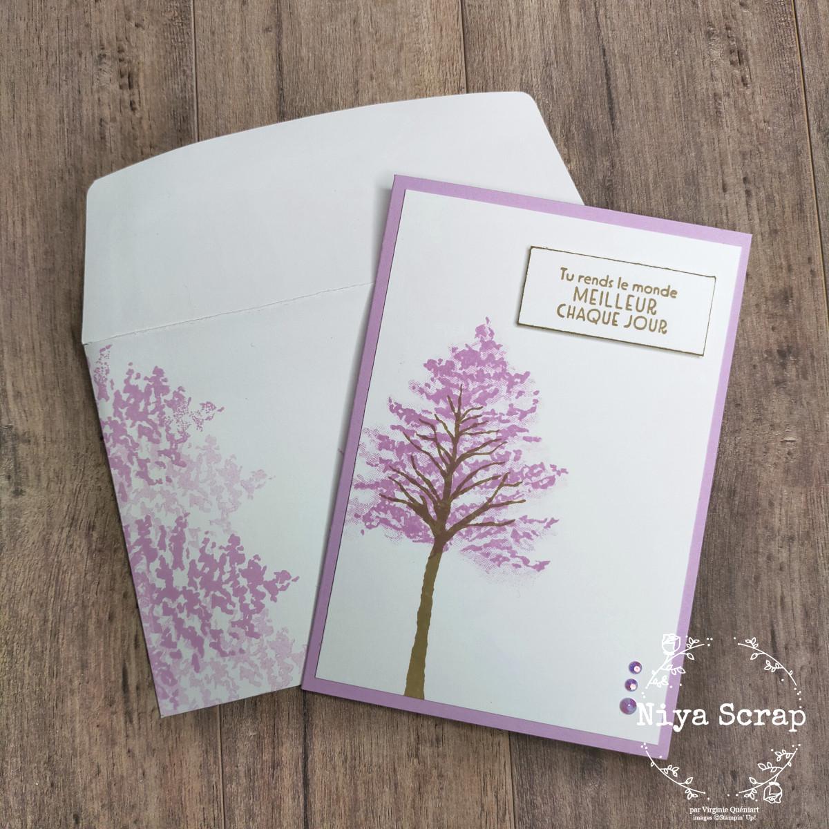 Niya Scrap - Swap de cartes - In Colors 2021-2023 - Freesia en Fleur - Matériel Stampin' Up!