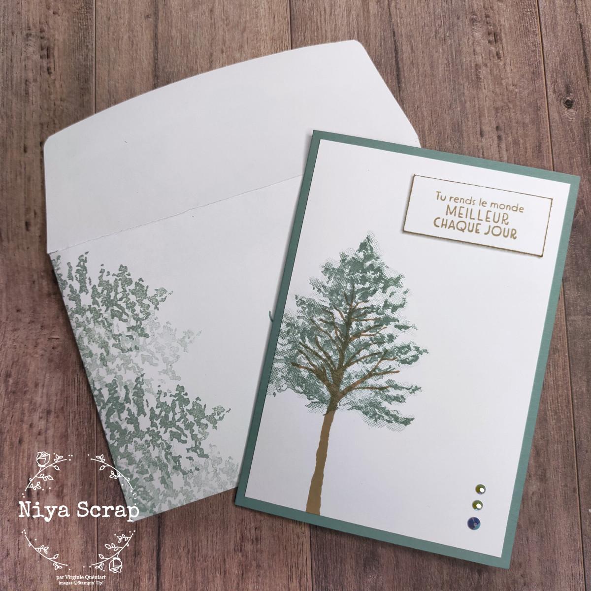 Niya Scrap - Swap de cartes - In Colors 2021-2023 - Soyeuse Succulente - Matériel Stampin' Up!